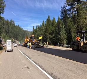 Highway 89 Paving Operations to Impact I-80 and Truckee